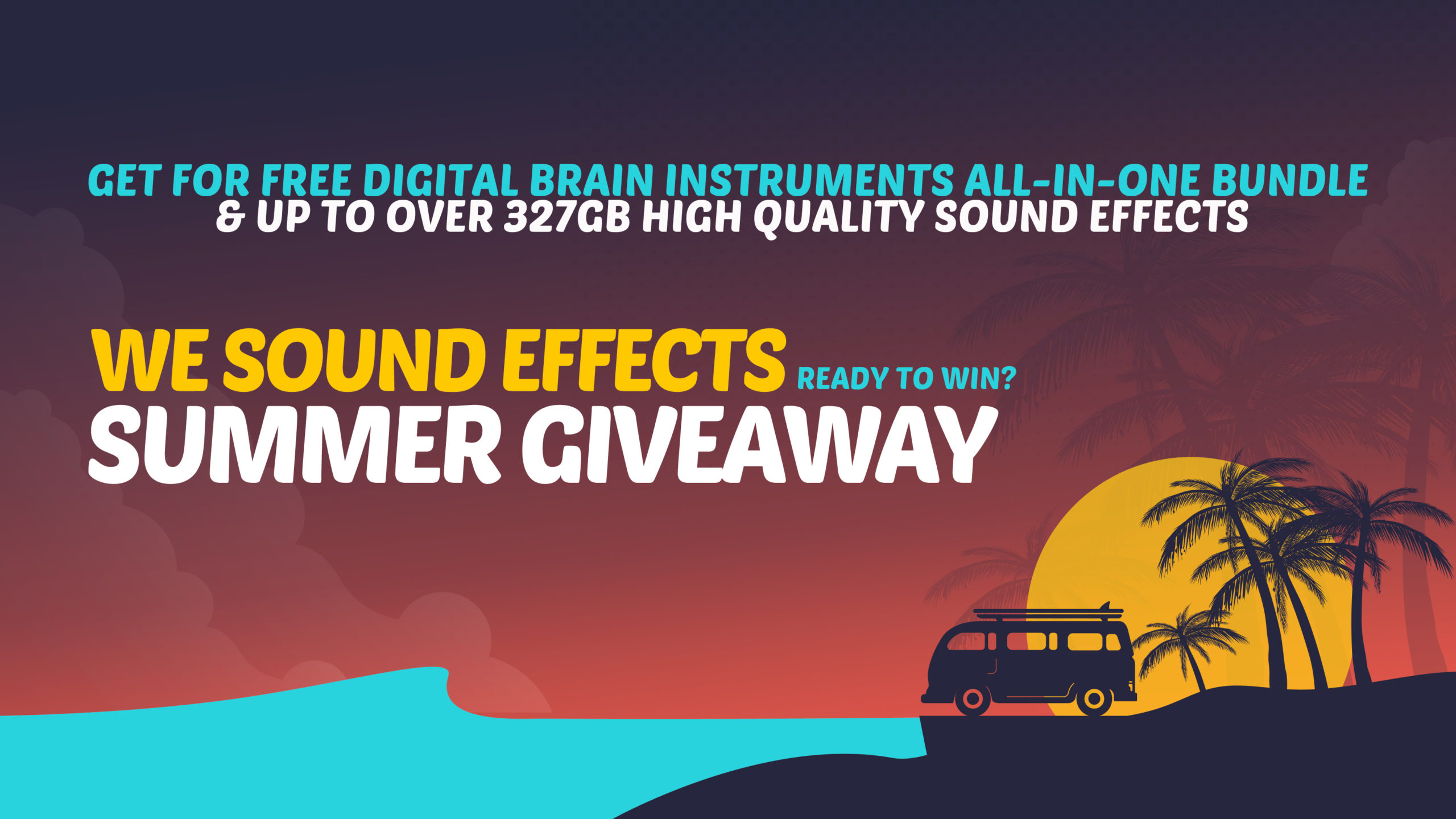 We Sound Effects Summer Giveaway