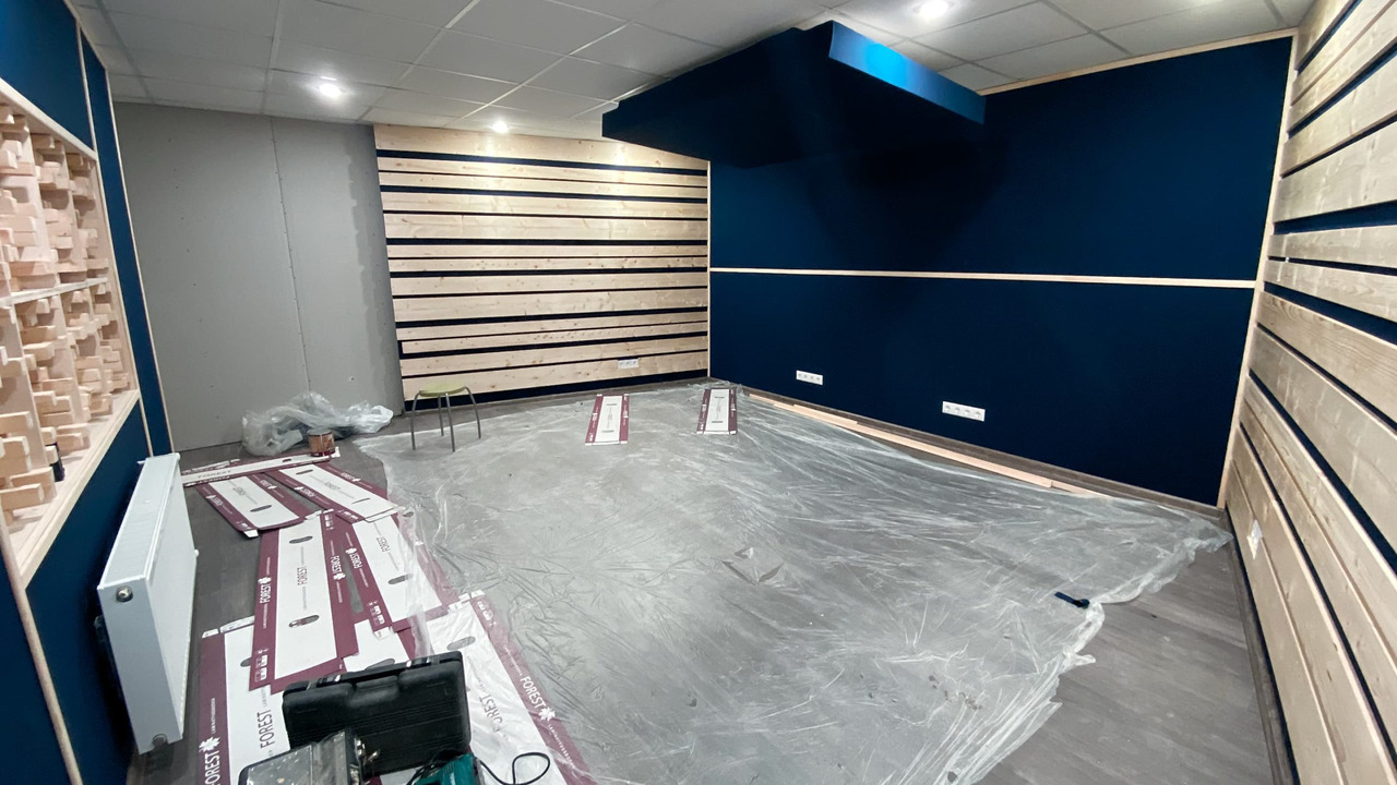 Building Control Room For Foley – Part 1